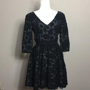 🔥Victoria's Secret • Black Lace Dress
